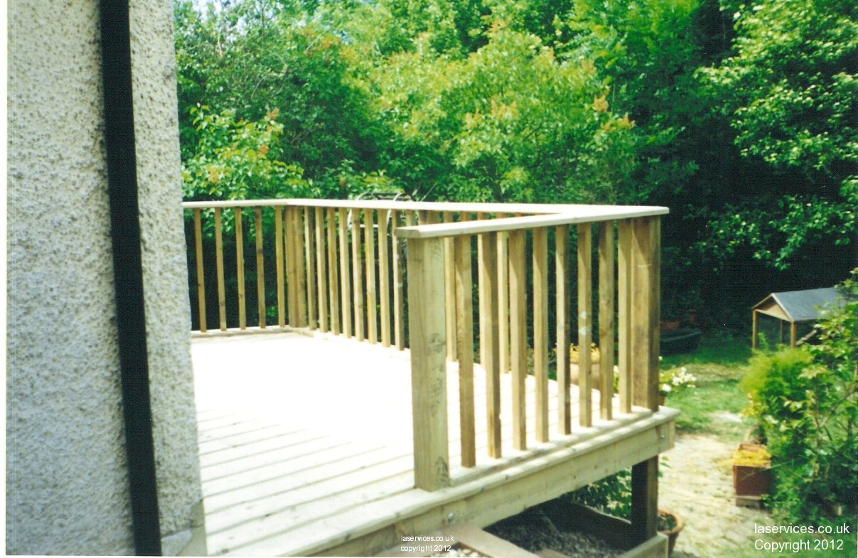 Raised decking picture tag landscaping and agricultural services ltd tel 07798 674632 - Raised decking design ideas ...