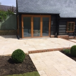 Adstock - Travertine Patio