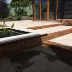 Adstock - Patio & Raised Pond