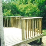 Oxford Raised Decking