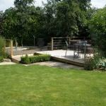 Tingewick Deck Area