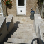 High Wycombe Travertine Steps