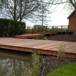 Warwickshire Decking Walkway