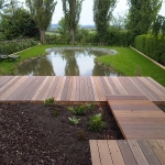 Warwickshire Decking Path